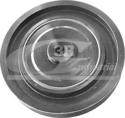 3RG 10628 - Ремінний шків, колінчастий вал autocars.com.ua