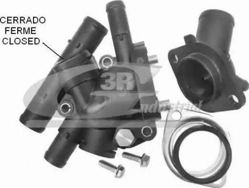 3RG 80636 - Термостат, охлаждающая жидкость car-mod.com