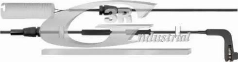 3RG 94111 - Сигнализатор, износ тормозных колодок car-mod.com