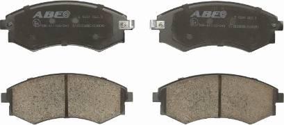 ABE C10503ABE - Тормозные колодки, дисковый тормоз avtokuzovplus.com.ua