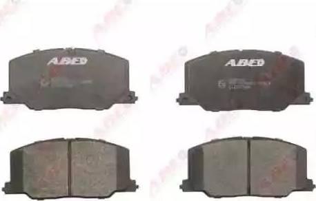 ABE C12037ABE - Тормозные колодки, дисковый тормоз avtokuzovplus.com.ua