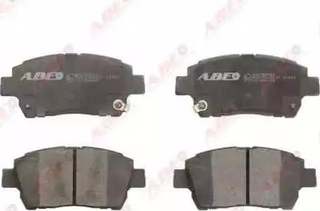 ABE C12086ABE - Тормозные колодки, дисковые car-mod.com