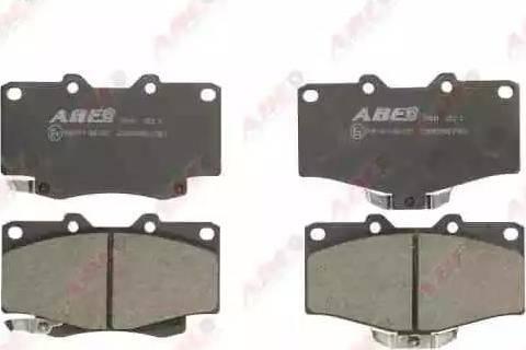 ABE C12089ABE - Тормозные колодки, дисковый тормоз avtokuzovplus.com.ua