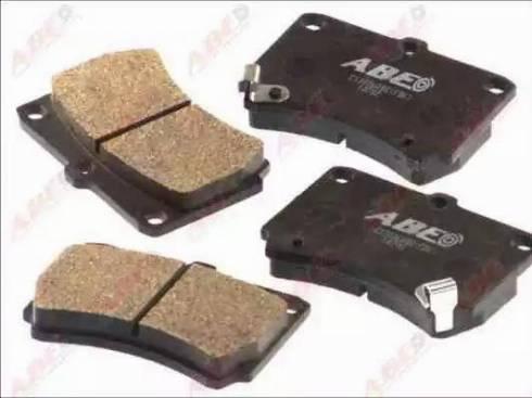 ABE C13036ABE - Тормозные колодки, дисковые car-mod.com