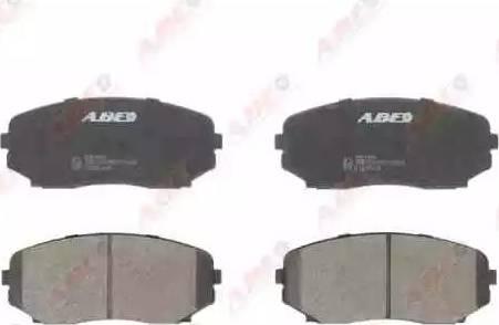 ABE C13061ABE - Комплект тормозных колодок, дисковый тормоз autodnr.net