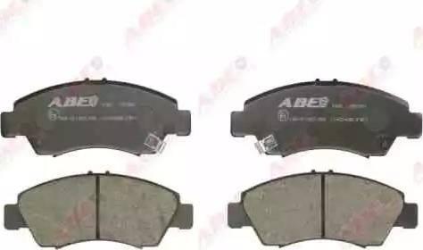ABE C14034ABE - Тормозные колодки, дисковые car-mod.com