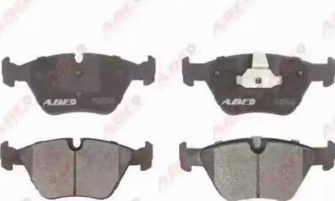 ABE C1B019ABE - Тормозные колодки, дисковые car-mod.com