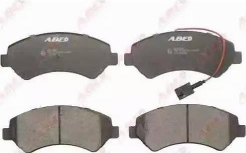 ABE C1F058ABE - Тормозные колодки, дисковые car-mod.com