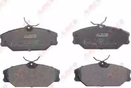 ABE C1R023ABE - Тормозные колодки, дисковые car-mod.com