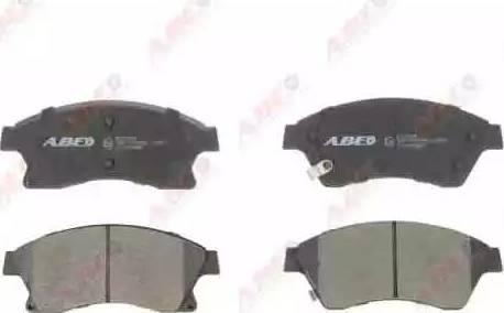 ABE C1X036ABE - Тормозные колодки, дисковый тормоз avtokuzovplus.com.ua