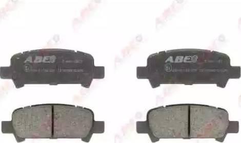 ABE C27002ABE - Тормозные колодки, дисковые car-mod.com