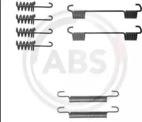 A.B.S. 0775q - Комплектующие, стояночная тормозная система autodnr.net