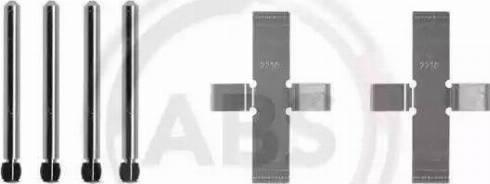 A.B.S. 0902Q - Комплектующие, колодки дискового тормоза avtokuzovplus.com.ua