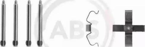 A.B.S. 1266Q - Комплектующие, колодки дискового тормоза avtokuzovplus.com.ua