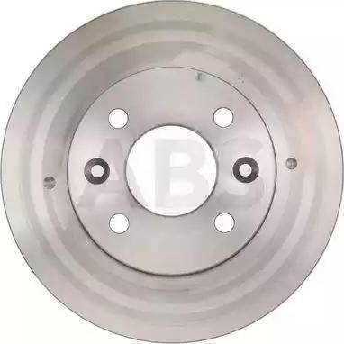 A.B.S. 15117 - Тормозной диск autodnr.net