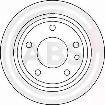 A.B.S. 15742 - Тормозной диск autodnr.net