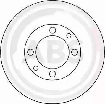 A.B.S. 15860 - Тормозной диск autodnr.net