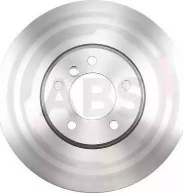 A.B.S. 17599 - Тормозной диск autodnr.net