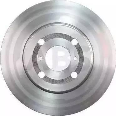 A.B.S. 17922 - Тормозной диск autodnr.net
