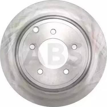 A.B.S. 17971 - Тормозной диск autodnr.net