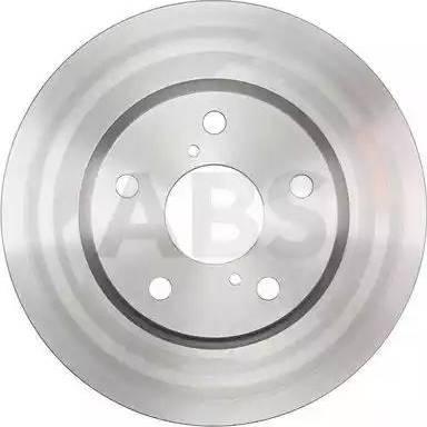 A.B.S. 18012 - Тормозной диск autodnr.net