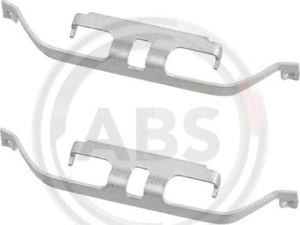 A.B.S. 1883Q - Комплектующие, колодки дискового тормоза avtokuzovplus.com.ua