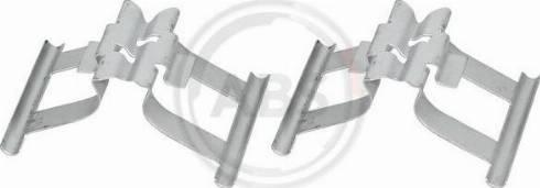 A.B.S. 1898Q - Комплектующие, колодки дискового тормоза avtokuzovplus.com.ua