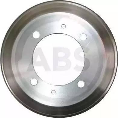 A.B.S. 2631-S - Тормозной барабан autodnr.net