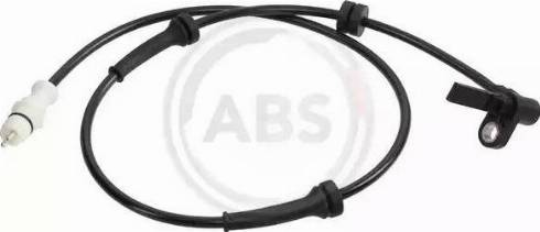A.B.S. 30568 - Датчик ABS, частота вращения колеса autodnr.net