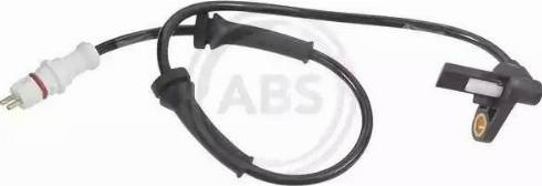 A.B.S. 30802 - Датчик ABS, частота вращения колеса avtokuzovplus.com.ua