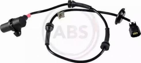 A.B.S. 30809 - Датчик ABS, частота вращения колеса autodnr.net
