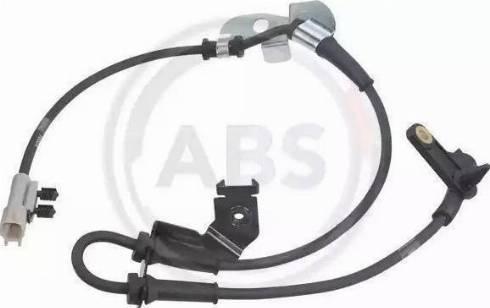A.B.S. 30828 - Датчик ABS, частота вращения колеса autodnr.net