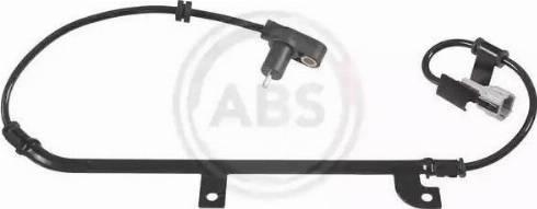 A.B.S. 30986 - Датчик ABS, частота вращения колеса autodnr.net