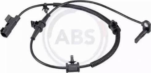 A.B.S. 31152 - Датчик ABS, частота вращения колеса autodnr.net