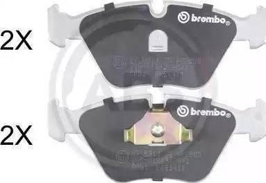 LPR 05P296 - Комплект тормозных колодок, дисковый тормоз autodnr.net