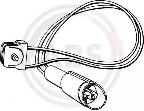 A.B.S. 39505 - Сигнализатор, износ тормозных колодок avtokuzovplus.com.ua