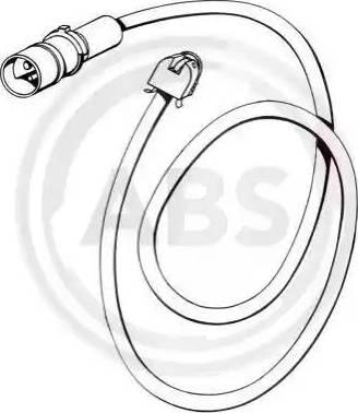 A.B.S. 39538 - Сигнализатор, износ тормозных колодок autodnr.net