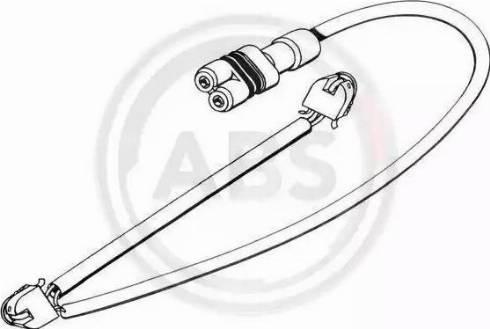 A.B.S. 39556 - Сигнализатор, износ тормозных колодок autodnr.net