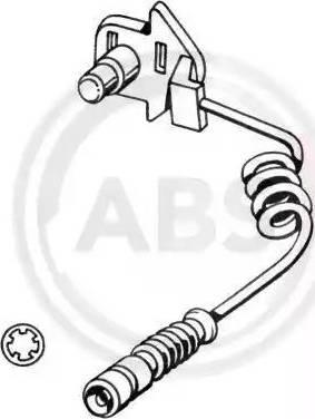 A.B.S. 39580 - Сигнализатор, износ тормозных колодок avtokuzovplus.com.ua