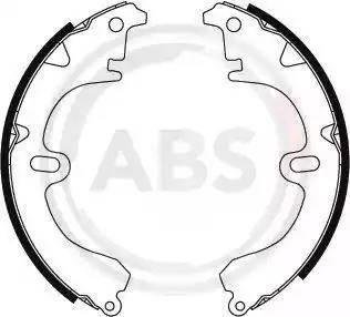 A.B.S. 8594 - Комплект тормозных башмаков, барабанные car-mod.com