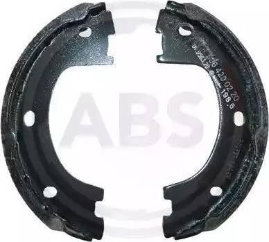 A.B.S. 9210 - Комплект тормозных колодок, стояночная тормозная система autodnr.net