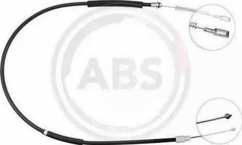 A.B.S. K13416 - Трос, стояночная тормозная система avtokuzovplus.com.ua