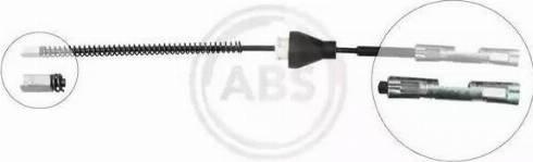 A.B.S. K13436 - Трос, стояночная тормозная система avtokuzovplus.com.ua