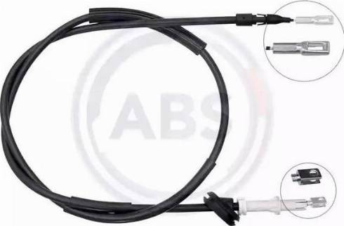 A.B.S. K14021 - Трос, стояночная тормозная система avtokuzovplus.com.ua