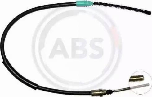 A.B.S. K16737 - Трос, стояночная тормозная система car-mod.com