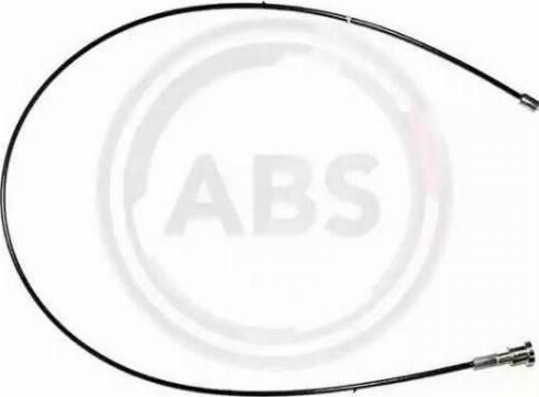 A.B.S. K17044 - Трос, стояночная тормозная система avtokuzovplus.com.ua