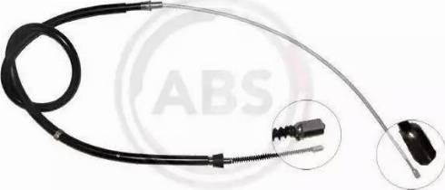 A.B.S. K18286 - Трос, стояночная тормозная система car-mod.com