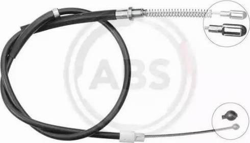 A.B.S. K18919 - Трос, стояночная тормозная система avtokuzovplus.com.ua