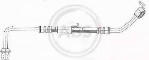 A.B.S. SL 3364 - Тормозной шланг avtokuzovplus.com.ua