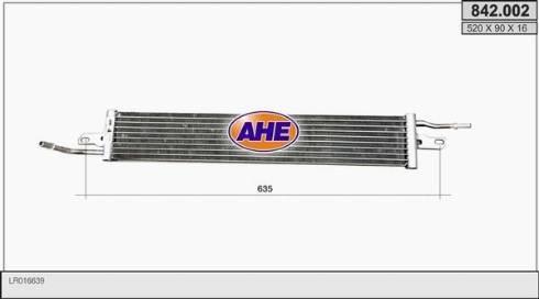 AHE 842.002 - Масляный радиатор, двигательное масло car-mod.com